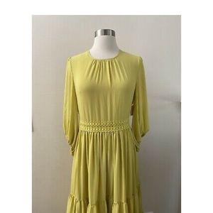 Rachel Parcell Autumn apple dress citrus yellow